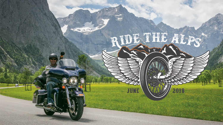 Ride the Alps Motorcycle Rally